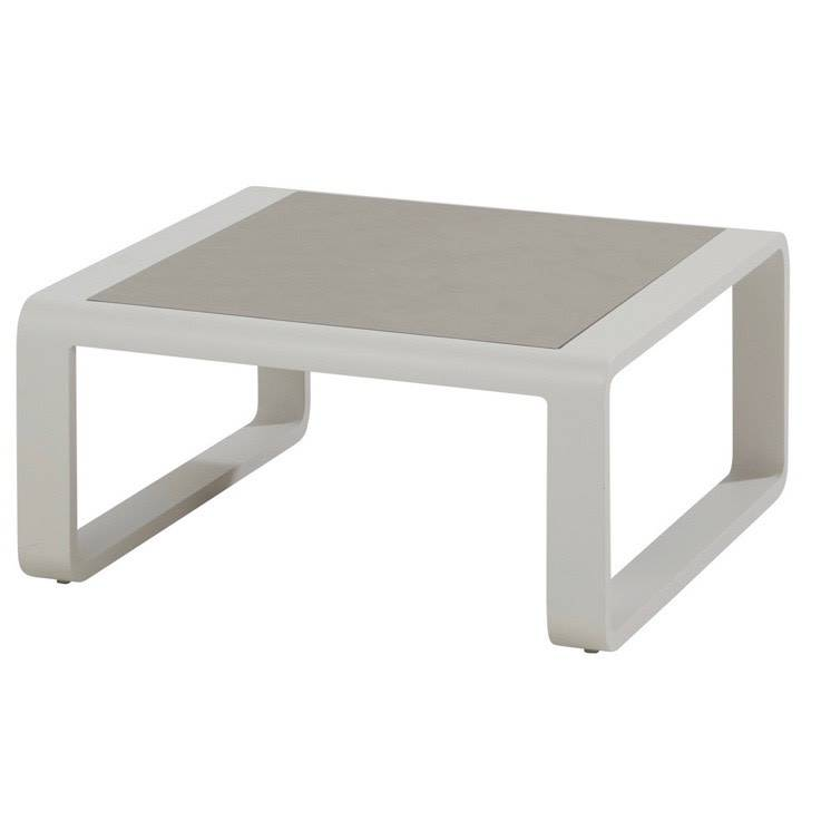 Escape lounge tuintafel 85x85xH40 cm wit Taste4SO