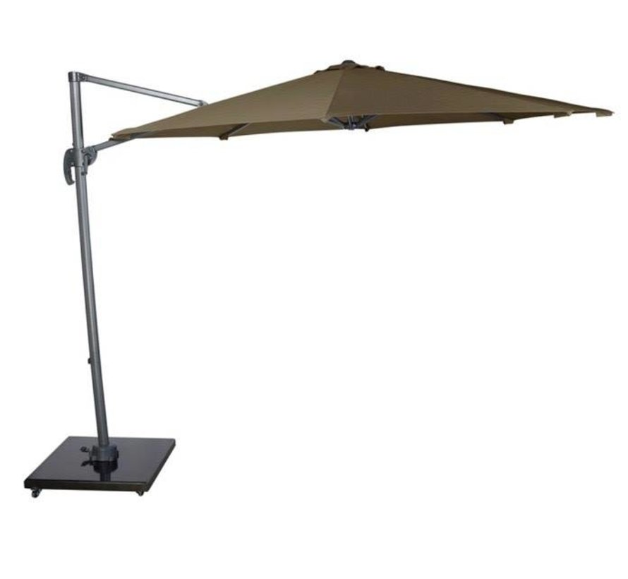 Falcon T1 zweefparasol 300 cm rond taupe