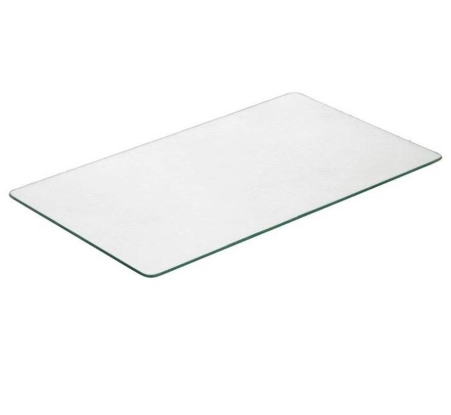 Glasplaat Nissah 133,5x73 cm dikte 6 mm