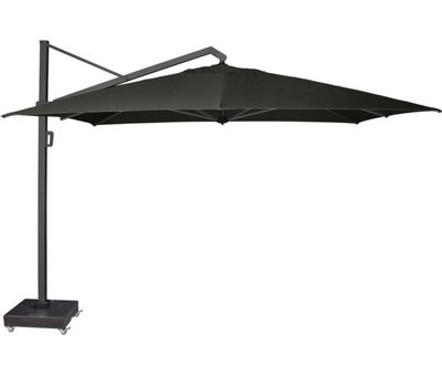 Platinum Icon zweefparasol 350x350 cm faded black