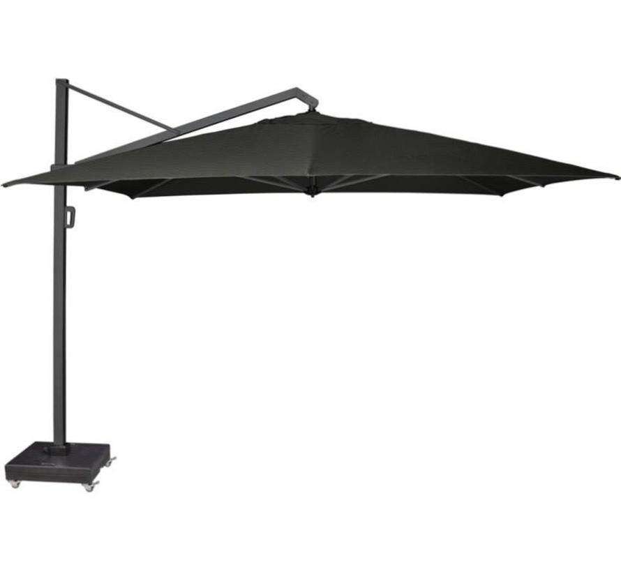 Icon zweefparasol 350x350 cm faded black