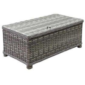 AVH-Collectie Kreta lounge tuintafel 105x57 cm grijs