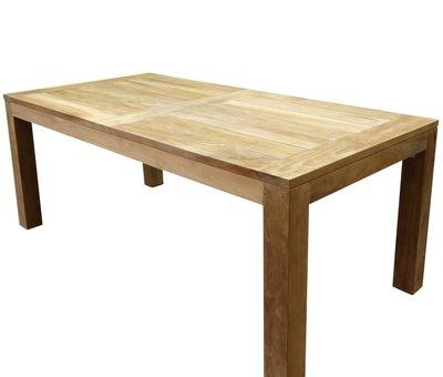 AVH-Collectie Krista dining tuintafel 180x95xH77,5 cm teak