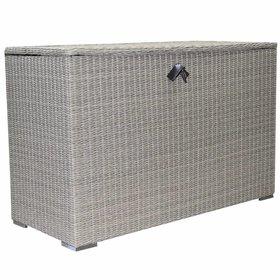 AVH-Collectie Kussenbox groot 167x70xH106 cm grijs
