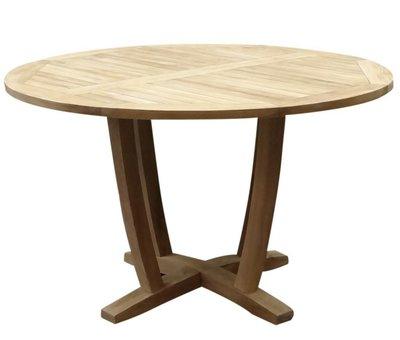 AVH-Collectie Legand dining tuintafel 100 cm rond teak