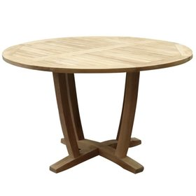 AVH-Collectie Legand dining tuintafel 140 cm rond teak