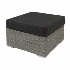 AVH-Collectie Matino voetenbank 78x78 cm grijs