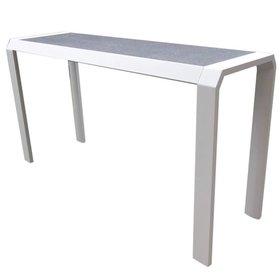 Higold Nomad bartafel 194x60xH106 cm aluminium wit