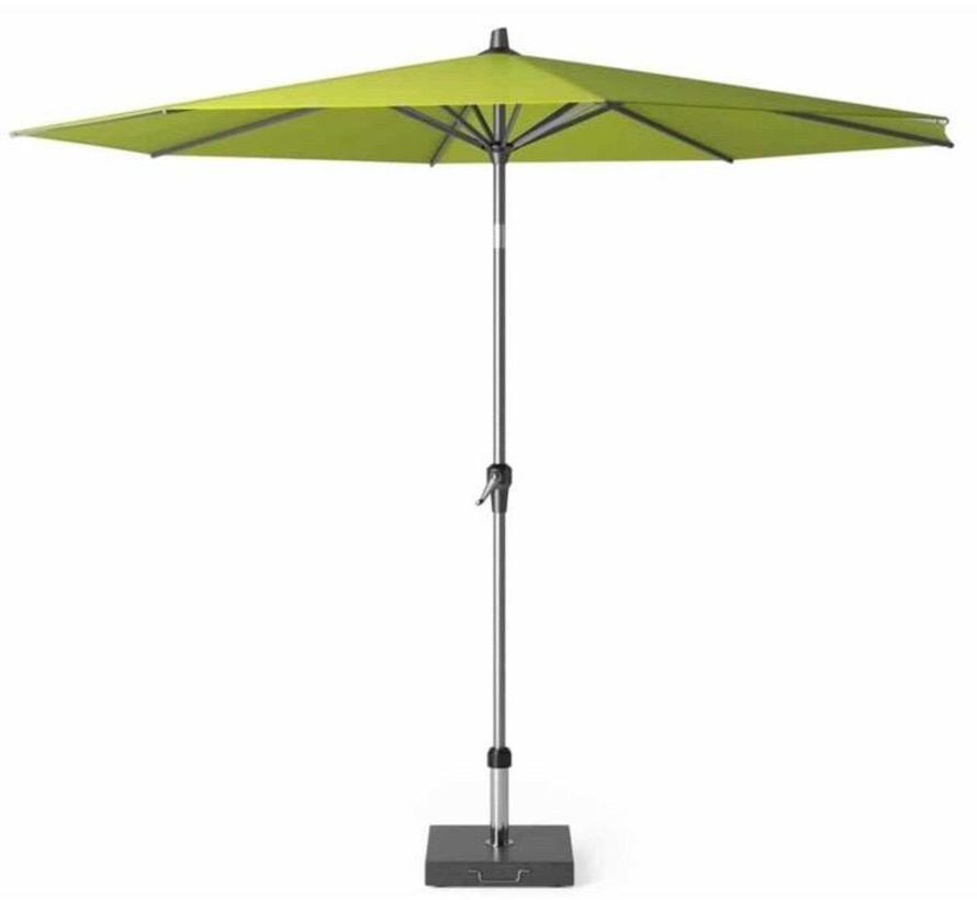 Riva parasol 300 cm rond apple met kniksysteem