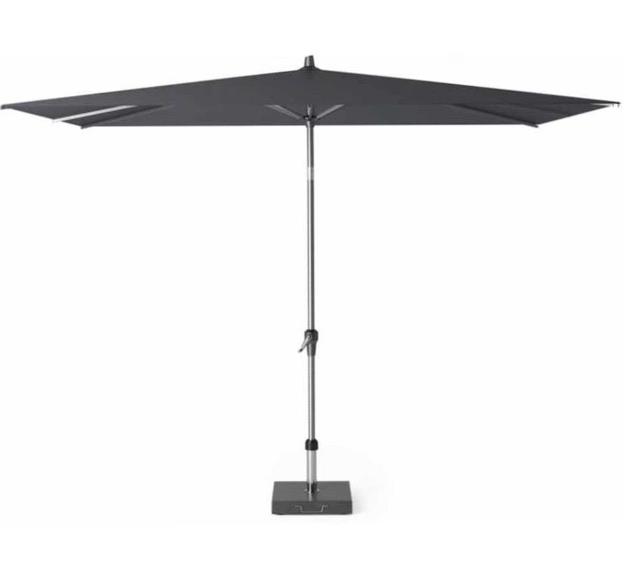 Riva parasol 300x200 cm antraciet met kniksysteem