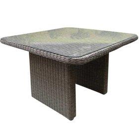 AVH-Collectie Roma lounge tuintafel 110x110xH63 cm  grijs