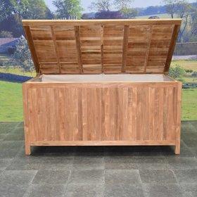 AVH-Collectie Kussenbox opbergbox XL teak