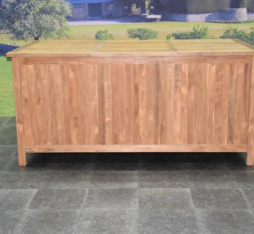 Tuinkussen Opbergbox Tuinmeubelen Vergelijken.Kussenbox Opbergbox Xl Teak Avh Outdoor Tuinmeubelen