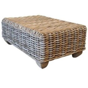 AVH-Collectie Toronto lounge tuintafel 60x90 cm naturel rotan