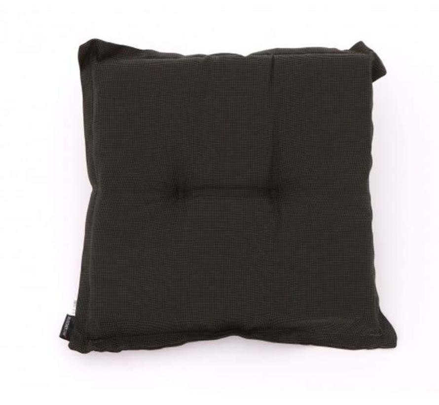 Zitkussen 50x50 cm Rib black