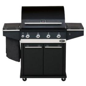 Boretti Ibrido houtskool- / gasbarbecue Boretti