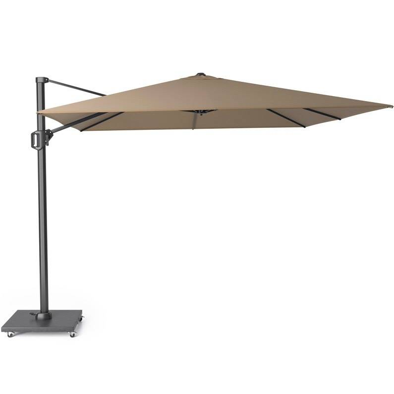 Challenger T1 zweefparasol 300x300 cm taupe