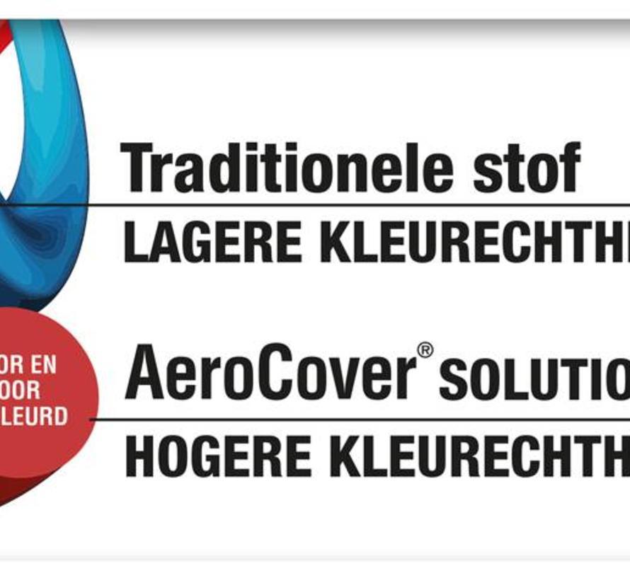Loungesethoes 255x255x100xH70 cm L vorm – AeroCover