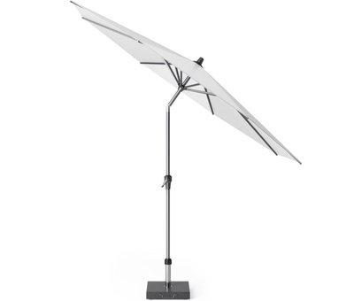 Platinum Riva parasol 300 cm rond wit met kniksysteem