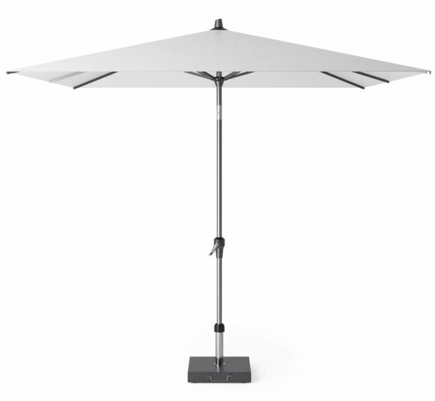 Riva parasol 250x250 cm wit met kniksysteem