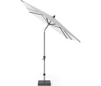 Platinum Riva parasol 300x200 cm wit met kniksysteem
