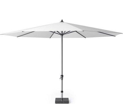 Platinum Riva parasol 400 cm rond wit