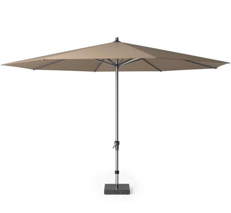 Riva parasol 400 cm rond taupe