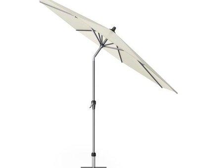 Platinum Riva parasol 300 cm rond ecru met kniksysteem