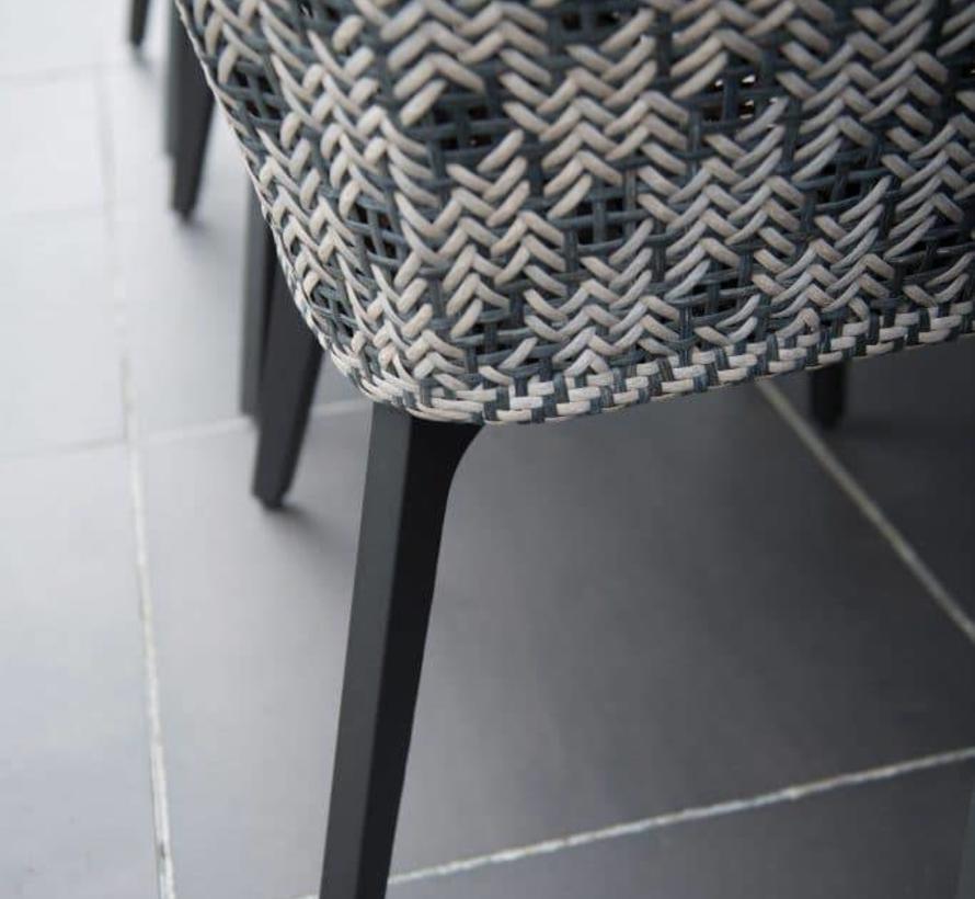Derby Savoy dining tuinset 240x100xH76 cm 7-delig teak aluminium