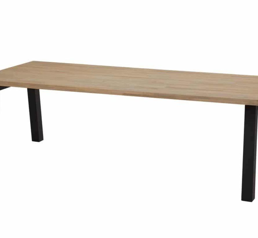 Derby Scandic dining tuinset 240x100xH76cm 7-delig rope teak
