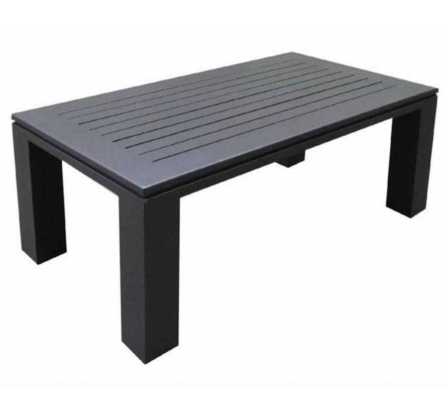 Almeria lounge tuintafel aluminium antraciet