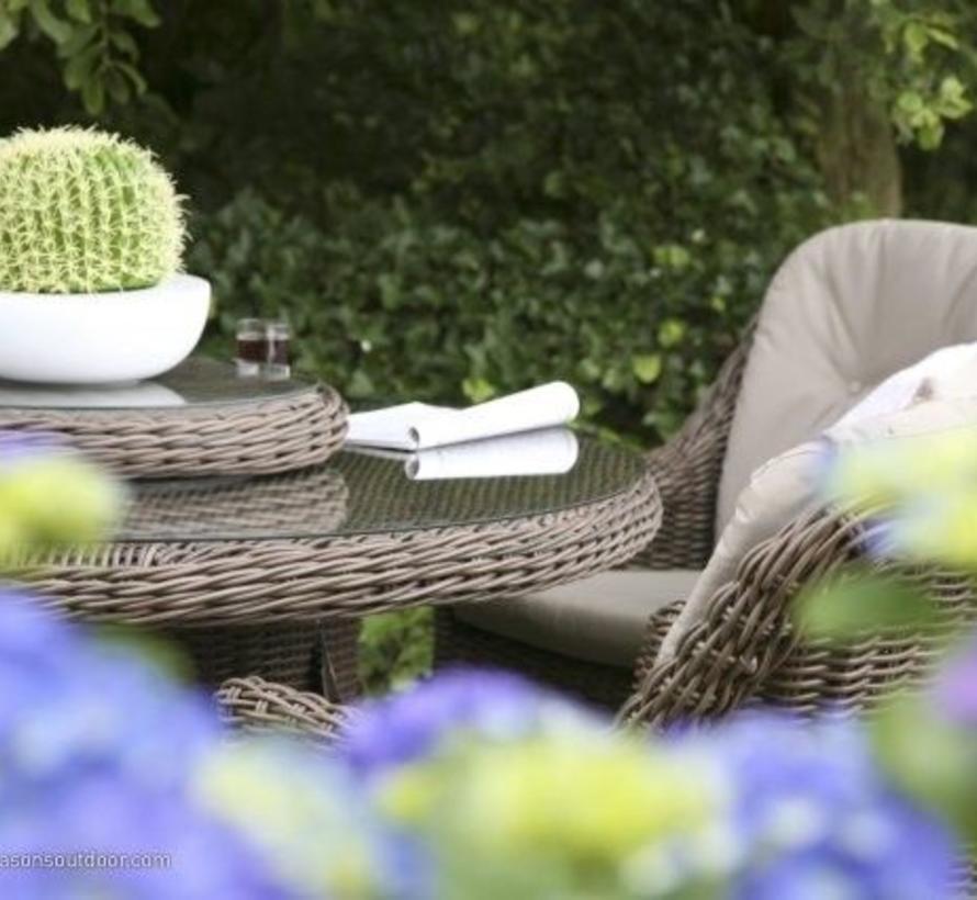 Madoera diner set 4-Seasons Outdoor