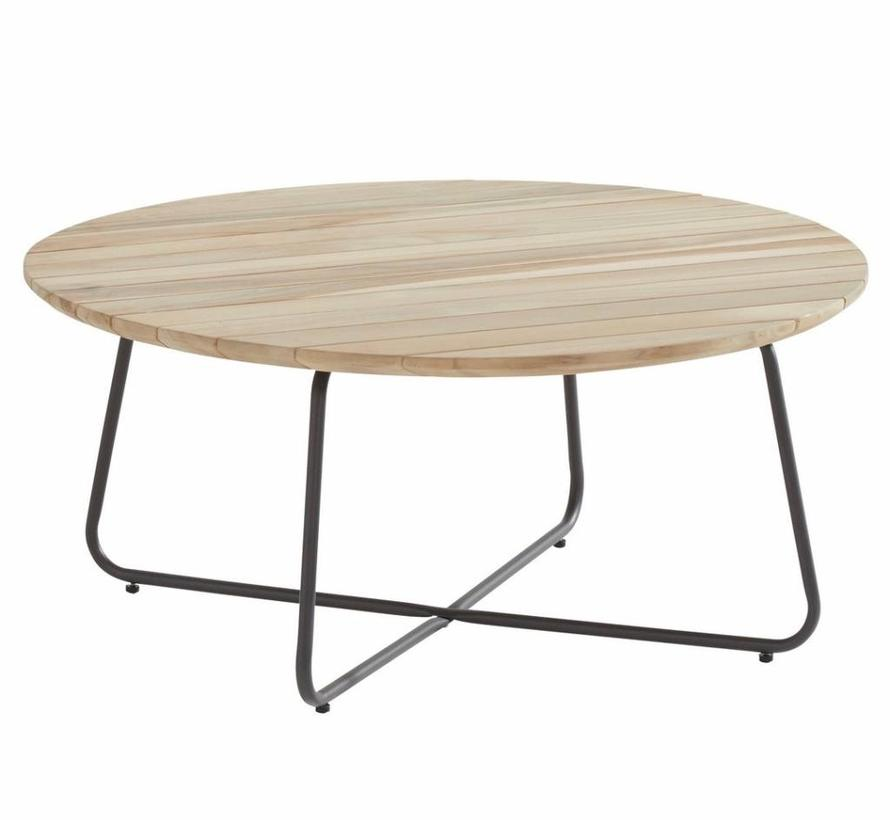 Axel lounge tuintafel 90xH40 cm rond teak 4-Seasons Outdoor