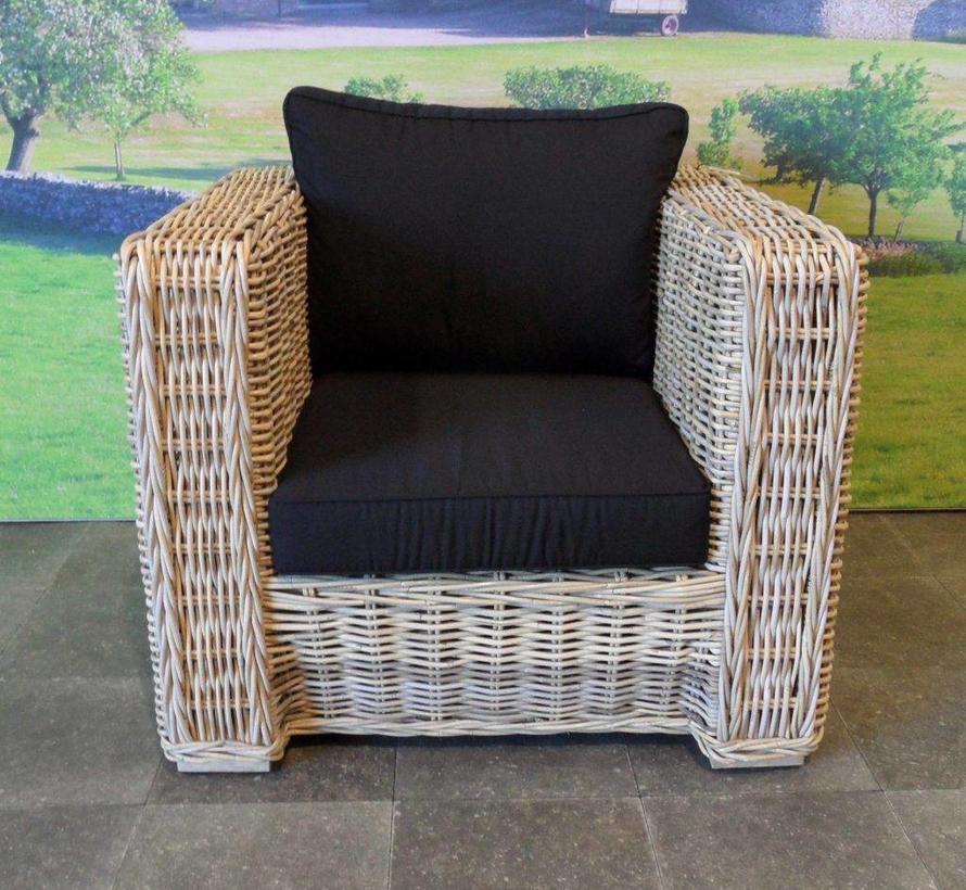 Nissah 3 zits stoel-bank loungeset