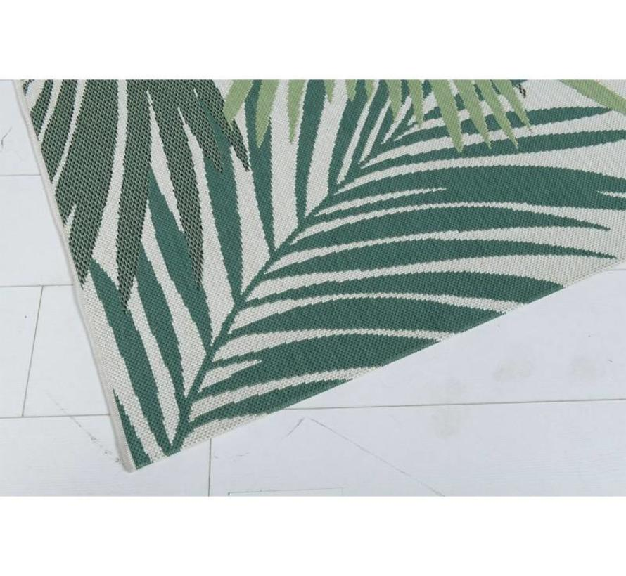 Naturalis buitenkleed 200x290 cm palm leaf