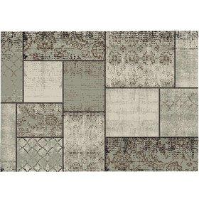 Garden Impressions Blocko buitenkleed 160x230 cm donker zand