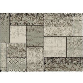 Garden Impressions Blocko buitenkleed 200x290 cm donker zand
