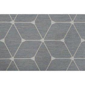 Garden Impressions Danish diamonds buitenkleed 160x230 cm licht grijs