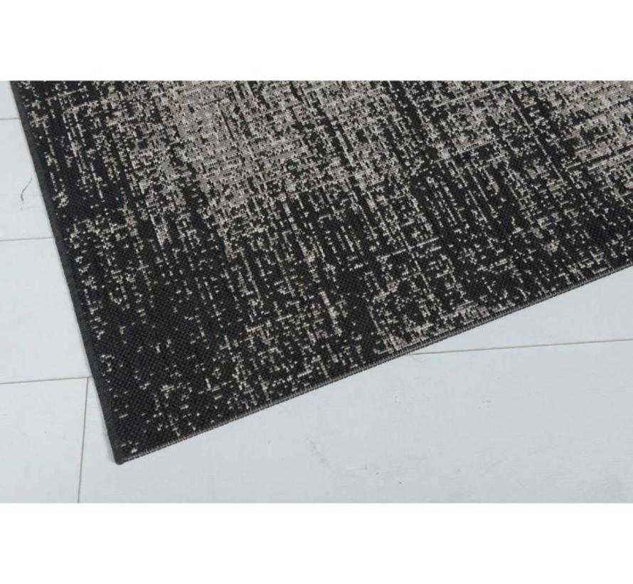 Antique buitenkleed 200x290 cm zwart