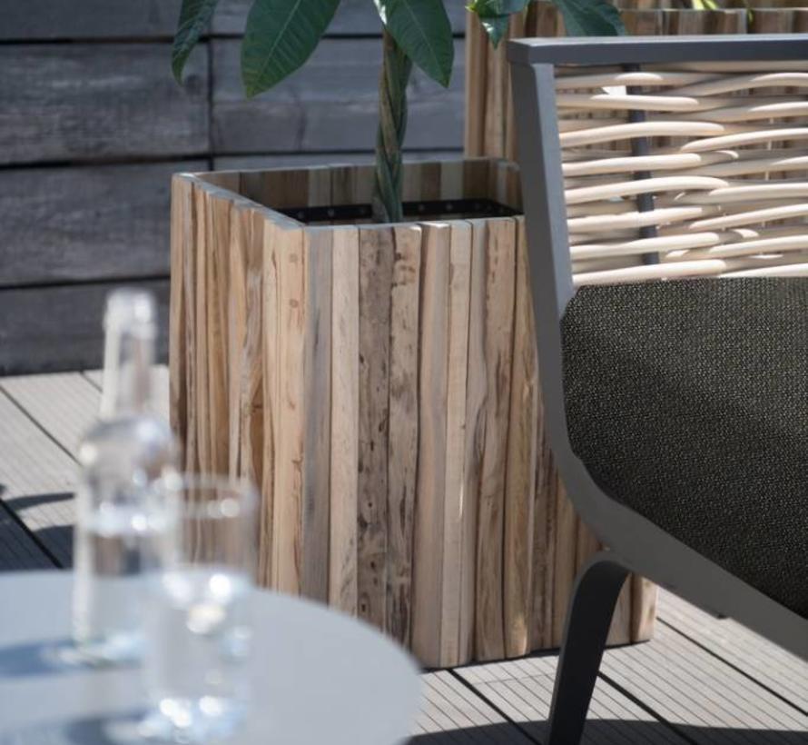 Antibes hoek loungeset 4-delig links 4 Seasons Outdoor
