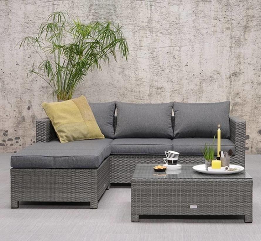 rudesheim chaise loungeset 3 delig grijs avh outdoor tuinmeubelen. Black Bedroom Furniture Sets. Home Design Ideas
