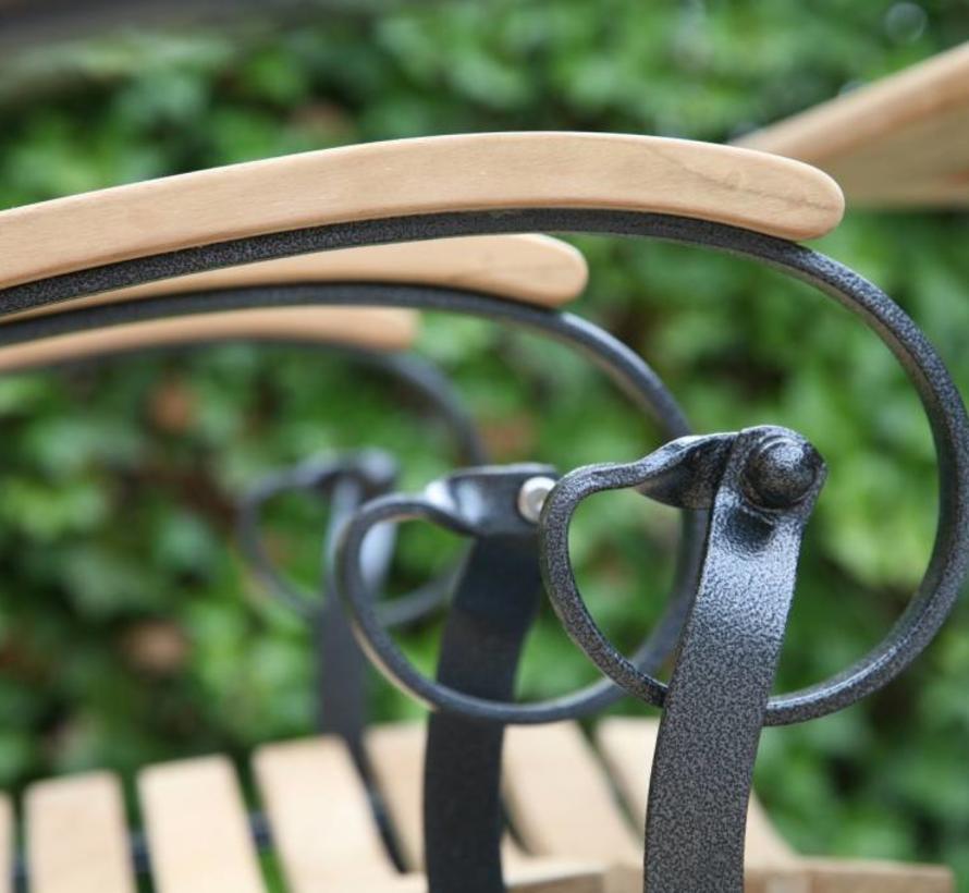 Bellini Lindau bistroset 3-delig teak gietijzer 4 Seasons Outdoor