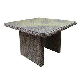 AVH-Collectie Bilbao lounge-diningtafel 110x110xH70 cm grijs