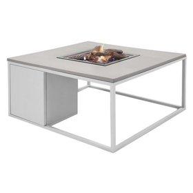 Cosi Fires Cosiloft 100 frame aluminium wit - top grijs