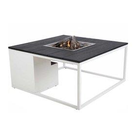 Cosi Fires Cosiloft 100 frame aluminium wit - top zwart