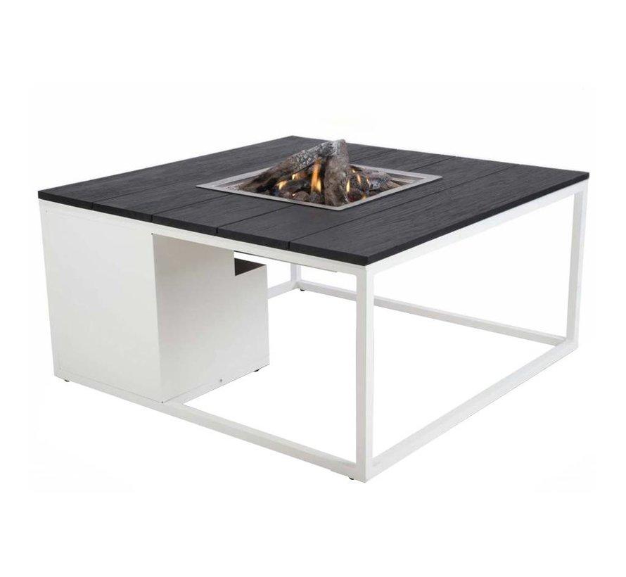 Cosiloft 100 frame aluminium wit - top zwart Cosi Fires