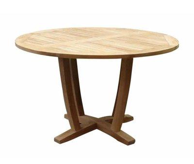 AVH-Collectie Legand dining tuintafel 120 cm rond teak