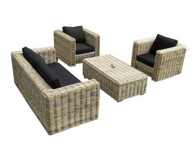 AVH-Collectie Nissah 2.5 zits stoel-bank loungeset