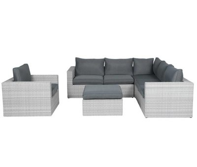 Garden Impressions Orangebird hoek loungeset 5-delig - licht grijs
