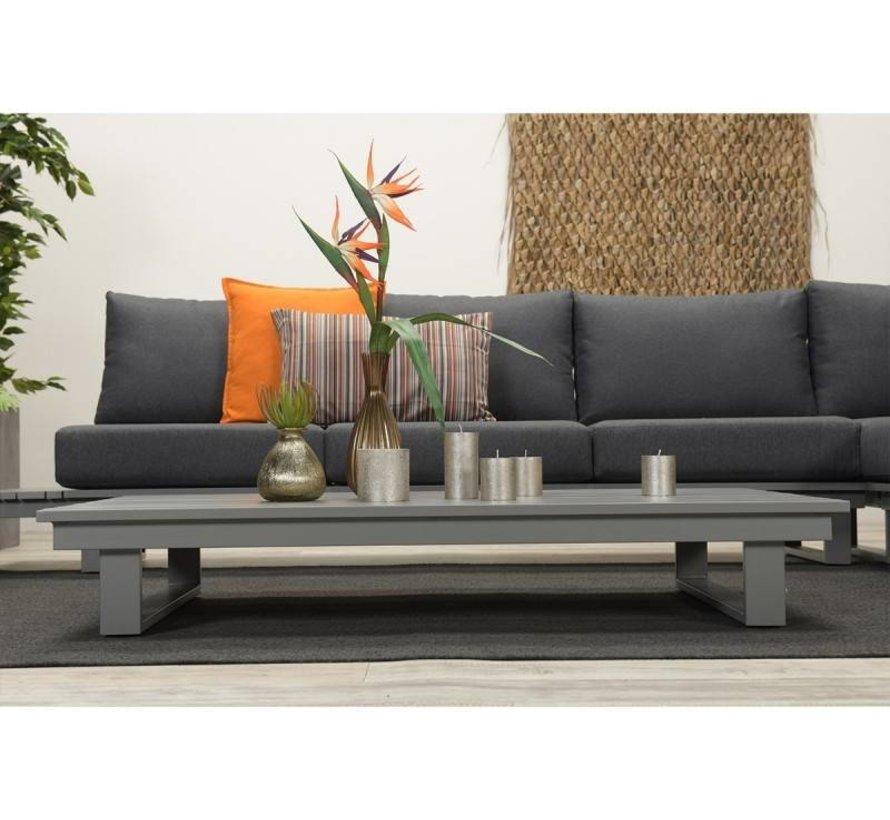 Amazone lounge set 4-delig antraciet